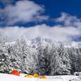 2010.01.23 八ヶ岳連峰を望む